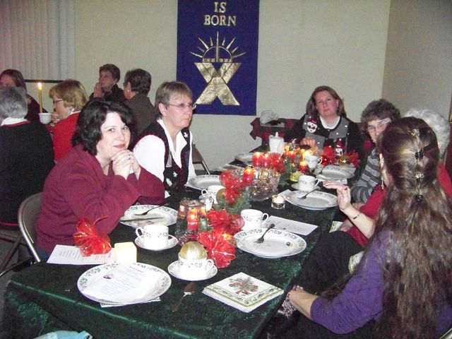 Advent Tea 2008